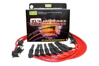 Taylor Cable® 79280 - 409 Pro Race Custom Spiral Core Wire Set (Red)