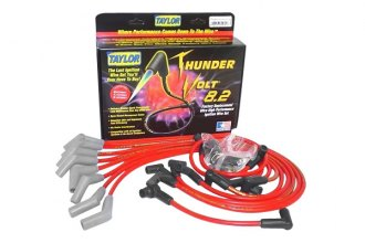 Taylor Cable® 82235 - ThunderVolt™ 40 ohm Ferrite Core Performance Ignition Wire Set (Red, 40 ohm Ferrite Core)