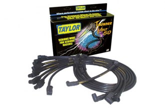 Taylor Cable® 98081 - ThunderVolt™ 50 Ignition Wire Set (Black)