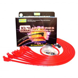 Taylor Cable® - 409 Pro Race Red Ignition Wire Set w/ 135 Degree Plug Boots