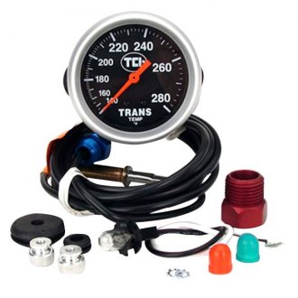 TCI® - Black Face Transmission Temperature Gauge