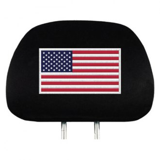 Team ProMark® - American Flag Headrest Covers