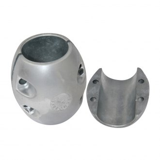 "Tecnoseal® - 5-1/2"" Dia. Zinc Barrel Collar Shaft Anode"