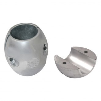 "Tecnoseal® - 1-1/4"" Dia. Zinc Barrel Collar Shaft Anode"