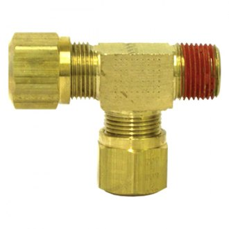 Tectran® - D.O.T. Air Brake Fittings for Nylon Tubing Male Run Tee