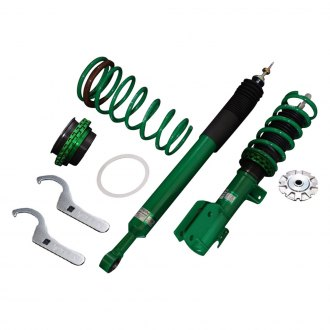 "Tein® - 0.6""-3.8"" x 0.8""-2.5"" Street Basis Z Front and Rear Lowering Coilover Kit"