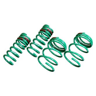 "Tein® - 0.9"" x 0.9"" H-Tech Front and Rear Lowering Coil Spring Kit"