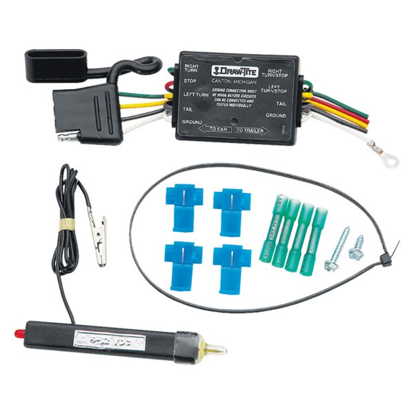 tow ready 20251 4 flat wiring kit car end connector rh carid com tow ready wiring harness 118416 tow ready 7 way wiring