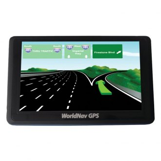 "TeleType® - WorldNav 5300 High-Resolution 5"" Truck GPS Navigator"