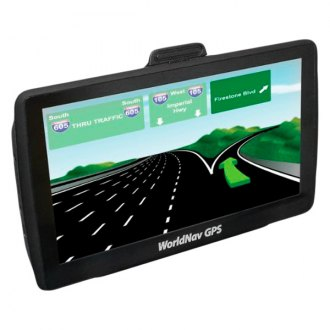 "TeleType® - WorldNav 7650 High-Resolution 7"" Truck GPS Navigator"