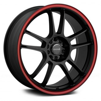TENZO-R® - DC-5 V.1 Matte Black with Red Stripe