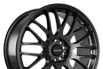 "TENZO-R® - TYPE-M Matte Black (18"" x 8"", +35 Offset, 5x100 Bolt Pattern, 73.1mm Hub)"