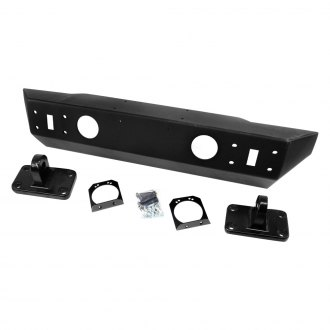 TeraFlex® - Explorer Stubby Black Front Winch HD Bumper Kit