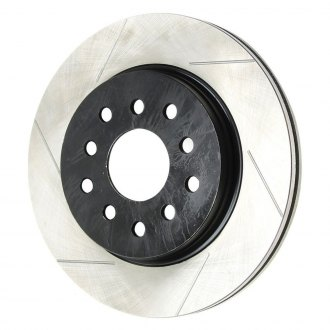 TeraFlex® - Slotted 1-Piece Front Brake Rotor