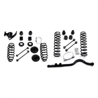TeraFlex® - Front Lower and Rear Upper 4 Lift Kit with Front Track Bar, without Shocks