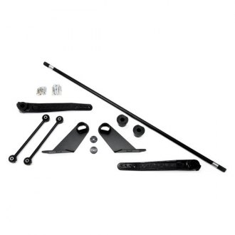 TeraFlex® - Front Lower and Rear Upper 0-3 Single Rate Forged S/T Swaybar Kit
