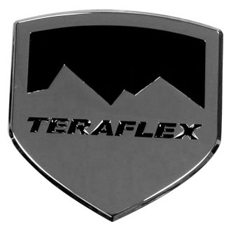 TeraFlex® - Polished Icon Badge