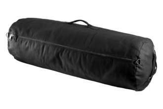 Texsport® - Zipper Duffel Bag - Black