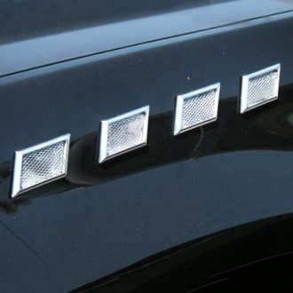 TFP® - Steep Square Chrome Side Vents