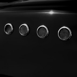 TFP® - Circle Chrome Side Vents