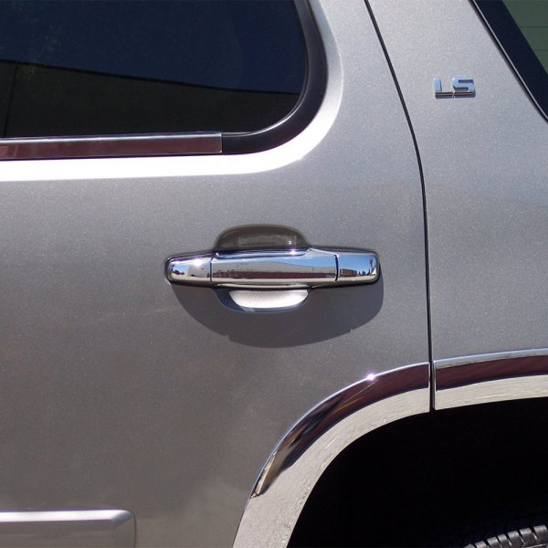 Tfp Chevy Silverado 2008 2013 Valutrim Chrome Plastic Door Handle Covers