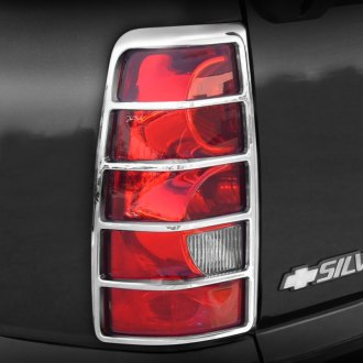 TFP® - ABS D Style Chrome Tail Light Insert Accent Set