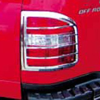 TFP® 321D - ABS D Style Chrome Tail Light Insert Accent Set