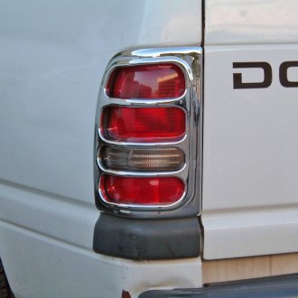 TFP® - D Style Chrome Tail Light Trim