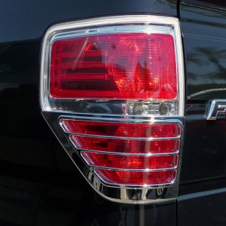 TFP® - ABS G Half style Chrome Tail Light Insert Accent Set
