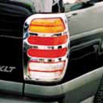 TFP® - ABS G Style Chrome Tail Light Insert Accent Set