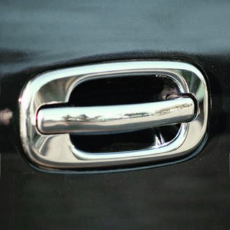 TFP® - Valutrim Chrome Plastic Door Handle Covers