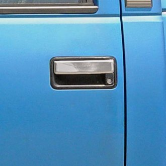 TFP® - Stainless Steel Chromed Door Handle Cover Set
