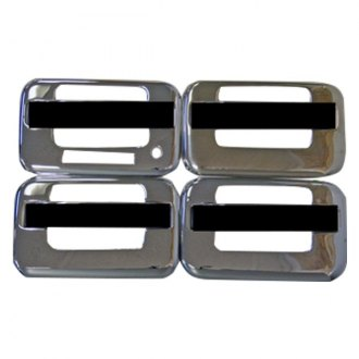 TFP® 407HKE - Stainless Steel Chromed Door Handle Cover Set