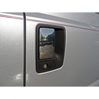 TFP® - Chrome Stainless Steel Door Handle Lever Covers