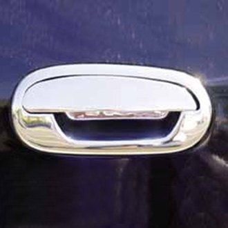 TFP® - Chrome Stainless Steel Door Handle Covers