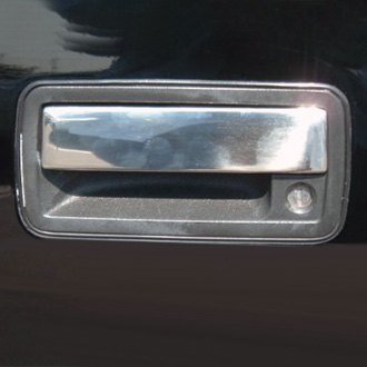 TFP® 490L - Stainless Steel Chromed Door Handle Cover Set