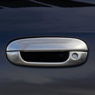 TFP® - Brushed Stainless Steel Door Handle Covers
