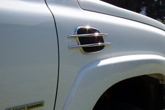 TFP® - Mercedes SL Style Chrome Side Vents
