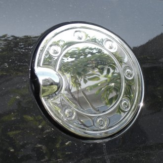 TFP® - Chrome Plastic Gas Cap Cover