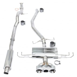 Thermal R&D® - Stainless Steel Cat-Back Exhaust System with Triple Rear Exit