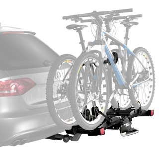 "Thule® - EasyFold Hitch Mount Bike Rack (2 Bike Fits 1-1/4"" and 2"" Receivers)"