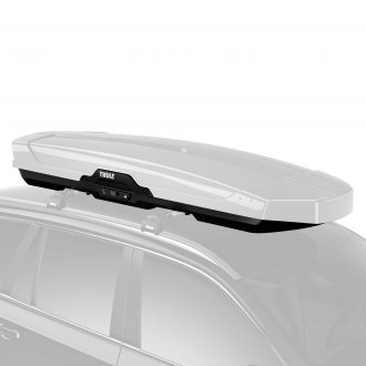 "Thule® - Motion XT Alpine White Glossy Limited Edition Cargo Box (90.25"" L x 37.5"" W x 13.25"" H, 16 cu. ft.)"