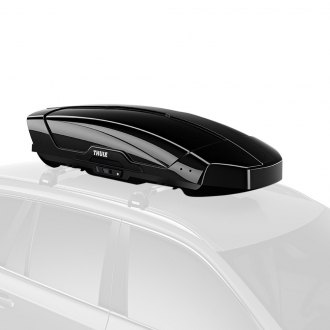 "Thule® - Motion XT Black Glossy Cargo Box (91.5"" L x 37.5"" W x 18"" H, 22 cu. ft.)"