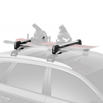 Thule® - SnowPack Extender Ski and Snowboard Rack (6 Pairs of Skis or 4 Snowboards)