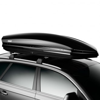 "Thule® - Sonic XL Cargo Box (90"" L x 34.5"" W x 16"" H, 17 cu. ft., Black)"
