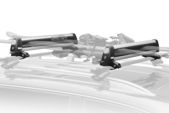 Thule® 92724 - Flat Top Ski and Snowboard Rack (4 Pairs of Skis or 2 Snowboards)