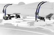 Thule® - Roll Model Kayak Rack