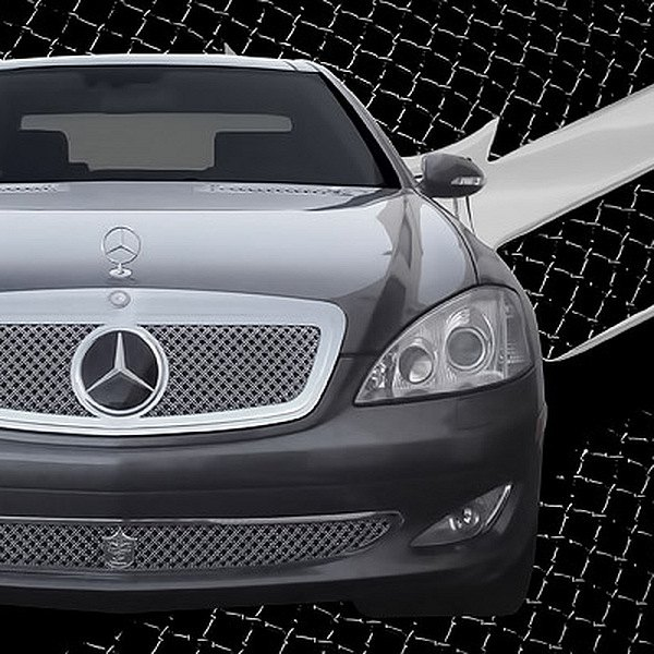 Tiarra® - Elite Collection Chrome Mesh Grille Kit