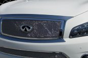 Tiarra® -Chrome Luxury Mesh Grille Kit