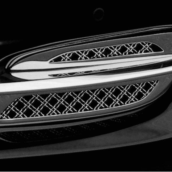 Tiarra® - Chrome Fog Light Mesh Grille